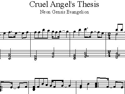 cruel angel thesis tab bass Cruel angel thesis chords by neon genesis of evangelion learn to play guitar by chord and tabs and use our crd diagrams, transpose the key and more.